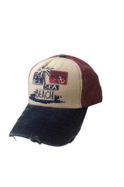 کلاه جدید مردانه اصل برند AEF Group رنگ زرشکی ty114846900