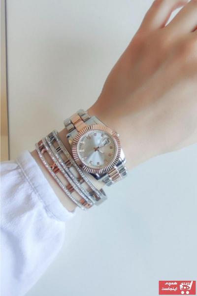 سفارش پستی ساعت زنانه  برند Tulpar رنگ نقره کد ty114860836