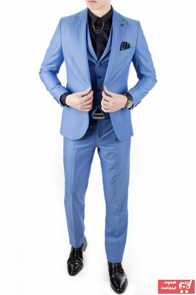 خرید کت شلوار 2021 مردانه برند دیپسی رنگ آبی کد ty16278659