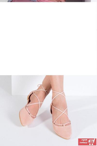 خرید پستی کفش بابت شیک زنانه برند Fox Shoes رنگ صورتی ty185705