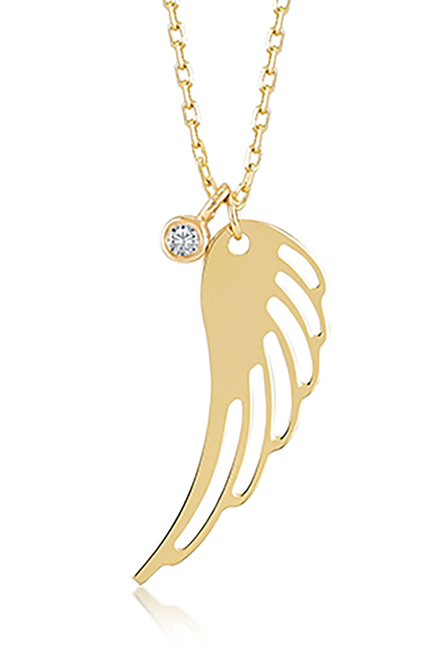 خرید اسان گردنبند زنانه اسپرت جدید برند Gelin Pırlanta رنگ طلایی ty2297347