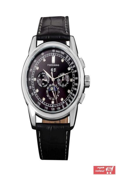 خرید ارزان ساعت مردانه اورجینال برند Forsining رنگ مشکی کد ty31359922