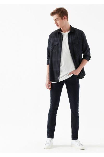خرید پستی شلوار جین مردانه برند ماوی رنگ مشکی کد ty31435688