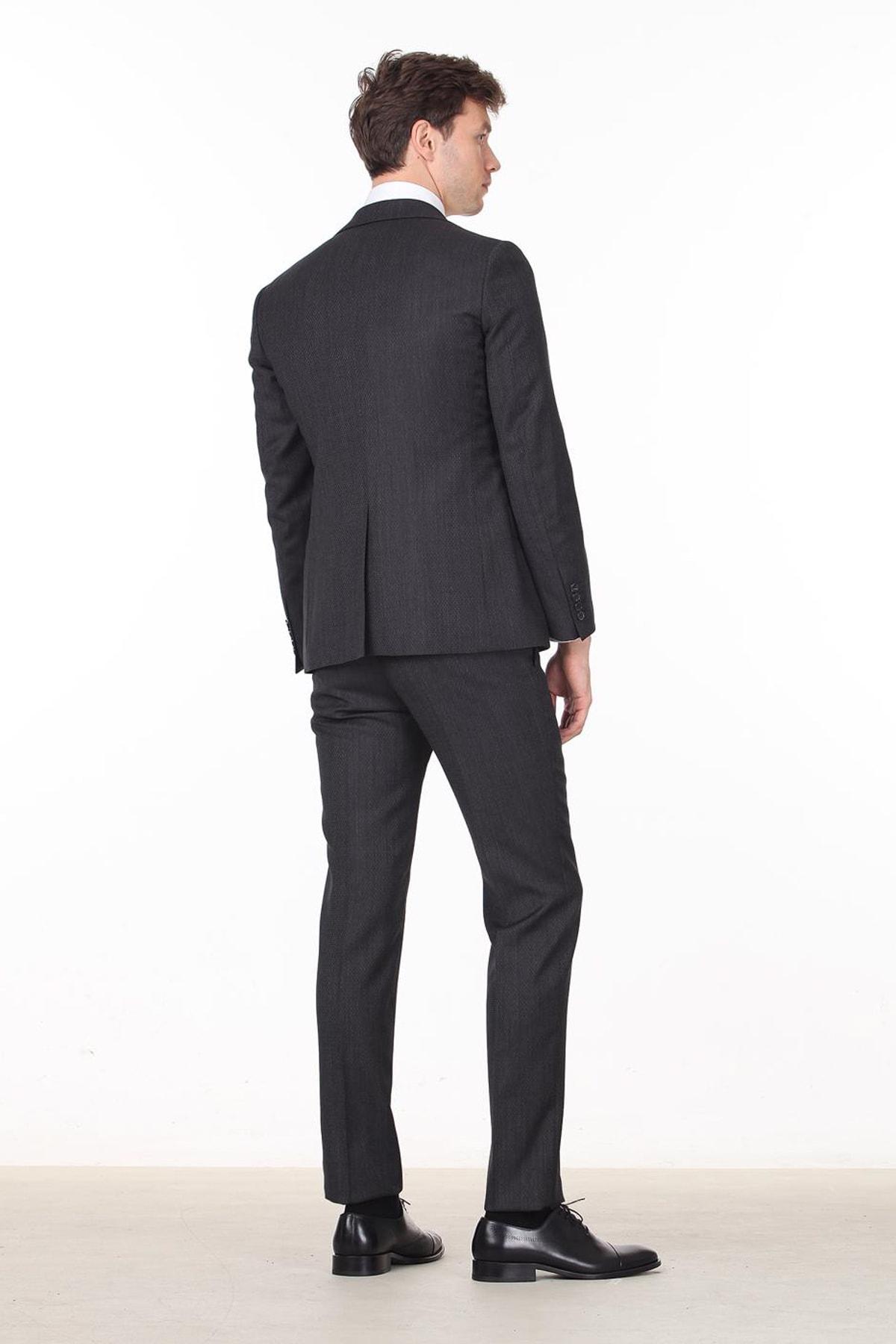 خرید اینترنتی کت شلوار خاص برند Ramsey رنگ نقره ای کد ty31802389