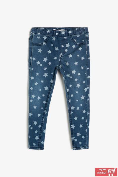 شلوار لی  برند Koton Kids رنگ آبی کد ty31991092