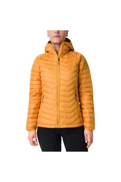 خرید ترک کاپشن ورزشی زنانه پارچه نخی برند کلمبیا رنگ زرد ty32177889