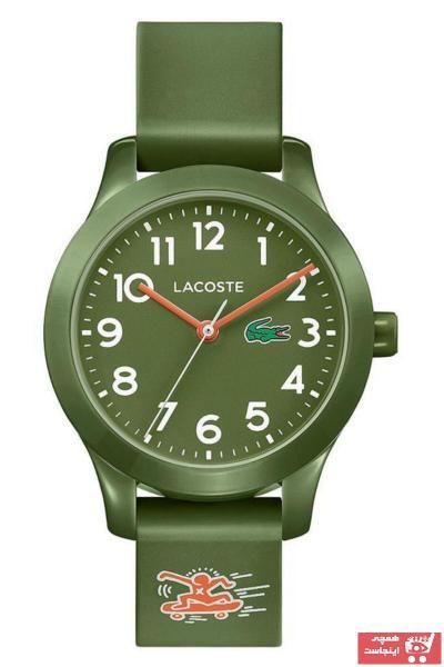 سفارش پستی ساعت پسرانه برند لاگوست lacoste رنگ سبز کد ty32601019