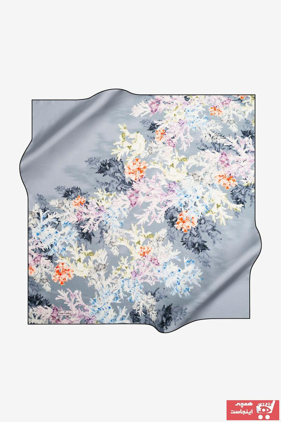 روسری زنانه مجلسی برند پیرکاردن رنگ طلایی ty32619858