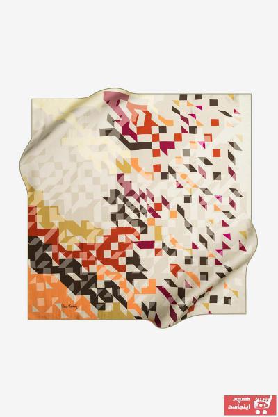 خرید روسری غیرحضوری مارک پیرکاردن رنگ طلایی ty32620072