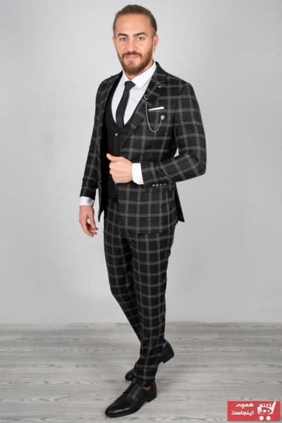 کت شلوار مردانه اینترنتی برند دیپسی رنگ مشکی کد ty32903803