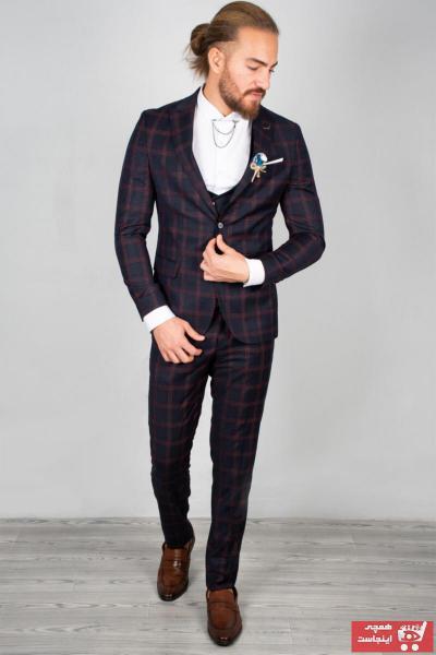 خرید پستی کت شلوار جدید برند دیپسی رنگ لاجوردی کد ty32903809