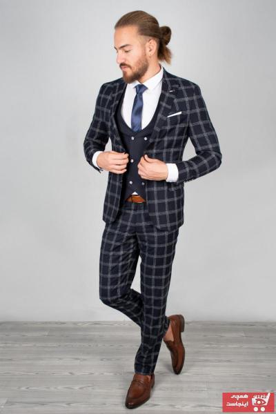 فروش کت شلوار مردانه حراجی برند DeepSEA رنگ لاجوردی کد ty32903816