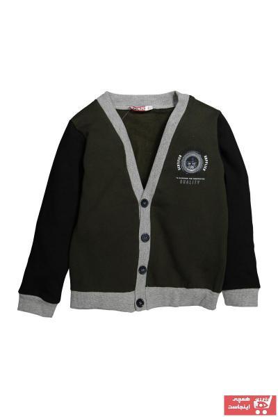 سویشرت بچه گانه مجلسی برند Zeyland رنگ خاکی کد ty32996908