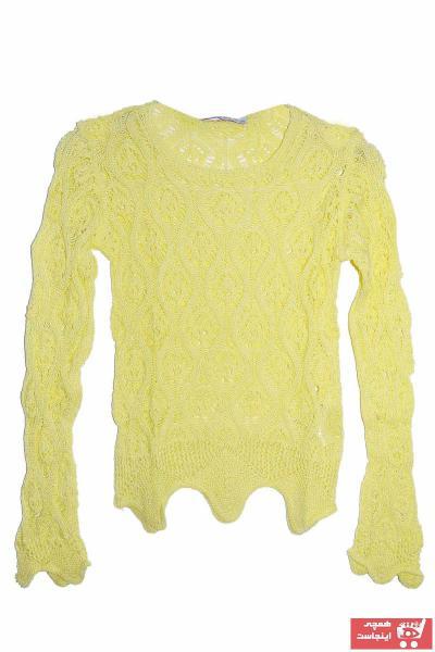 خرید انلاین پلیور طرح دار برند Marions رنگ زرد ty33021079