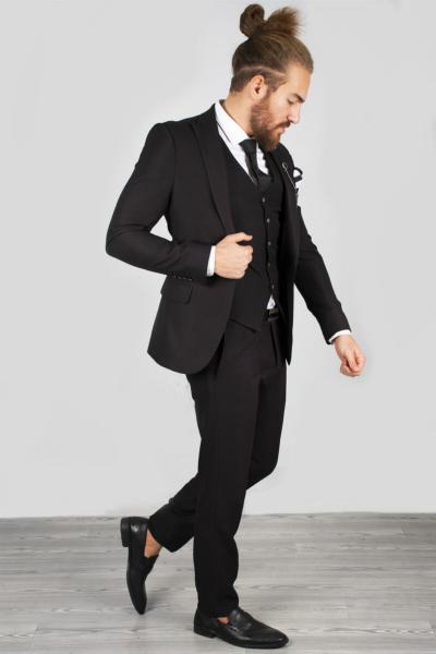 کت شلوار مردانه خاص برند دیپسی رنگ مشکی کد ty34455792