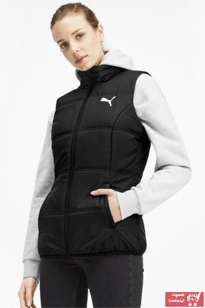 جلیقه زنانه طرح دار برند Puma رنگ مشکی کد ty34687490