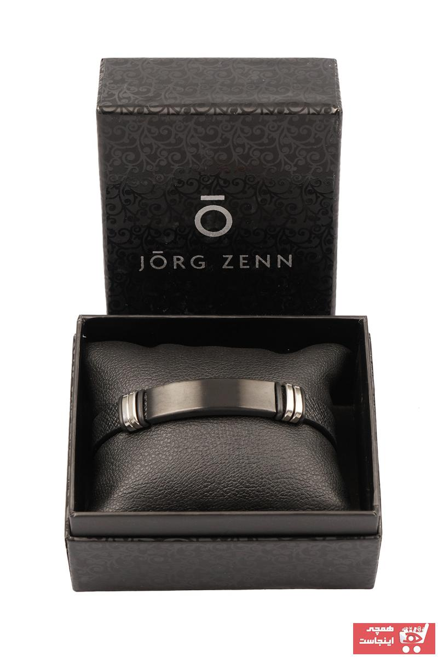 فروش دستبند مردانه برند JORG ZENN رنگ مشکی کد ty34897445