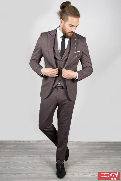 خرید کت شلوار مردانه اصل مجلسی برند دیپسی رنگ نارنجی کد ty34919697
