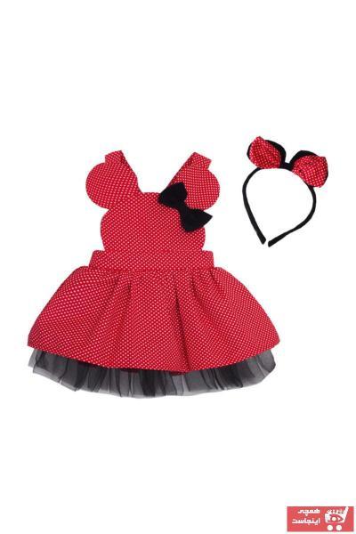 پیراهن دخترانه برند Shecco Babba رنگ قرمز ty35136039