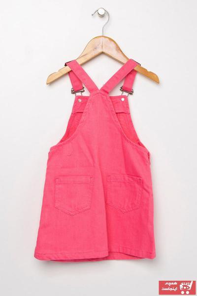 پیراهن دخترانه مدل برند Koton Kids رنگ صورتی ty35153293