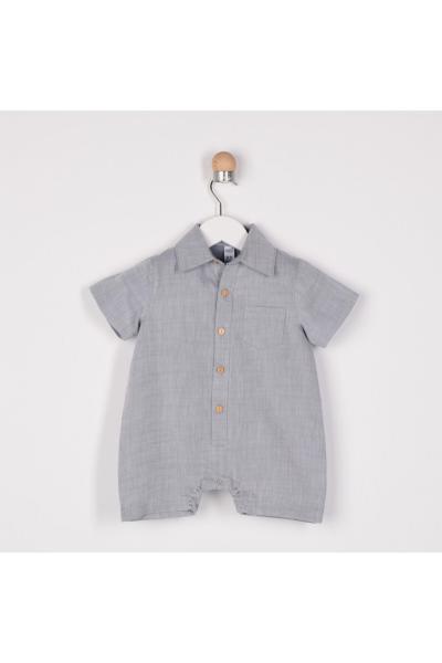 پیراهن خاص نوزاد پسر برند Panço رنگ آبی کد ty35444807