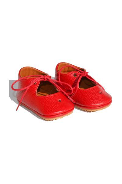 خرید  کفش تخت نوزاد دخترانه برند Ayax رنگ قرمز ty35503417
