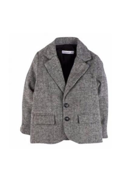 فروشگاه ژاکت اورجینال برند İdilbaby&Mamino رنگ نقره ای کد ty35505909