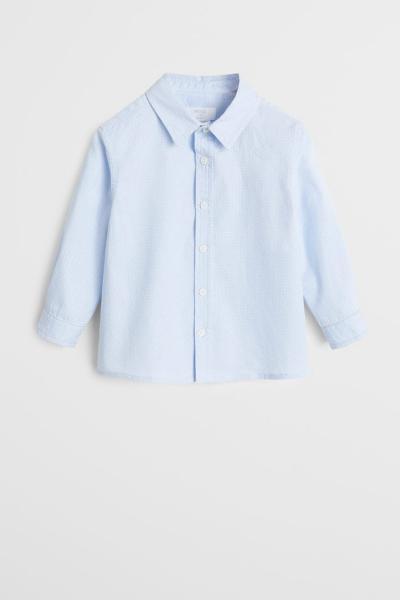 پیراهن نوزاد پسر ترک مجلسی برند مانگو رنگ آبی کد ty35696073