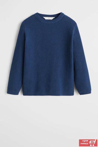 خرید اینترنتی پلیور خاص بچه گانه برند مانگو رنگ آبی کد ty35696181
