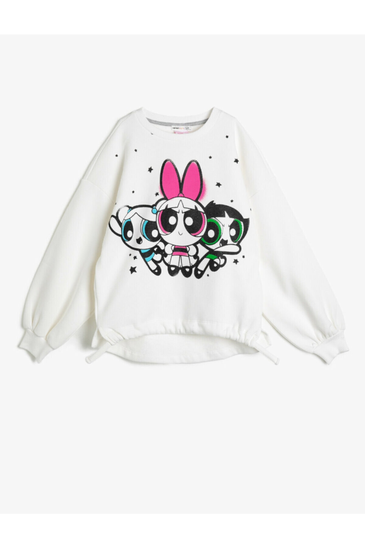 خرید انلاین سویشرت دخترانه ترکیه برند Koton Kids رنگ بژ کد ty35772613