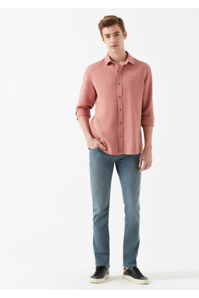 فروشگاه شلوار جین مردانه سال ۹۹ برند ماوی رنگ آبی کد ty35811570
