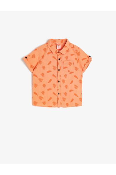 سفارش انلاین پیراهن ساده برند کوتون رنگ قرمز ty35902763