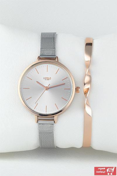 فروش پستی ساعت مچی زنانه لوکس برند Luis Polo رنگ بژ کد ty36288395