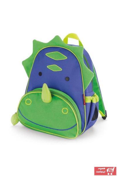 خرید مدل کوله پشتی بچه گانه پسرانه برند Skip Hop رنگ سبز کد ty36354585