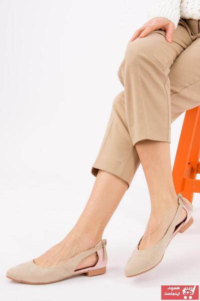 کفش بابت زنانه مجلسی برند Fox Shoes رنگ صورتی ty36432255