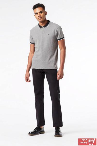 خرید پولوشرت مردانه ترک جدید برند Dockers رنگ نقره ای کد ty36473817