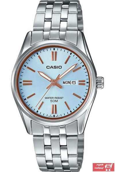 خرید ساعت شیک زنانهاورجینال برند Casio کد ty3655498