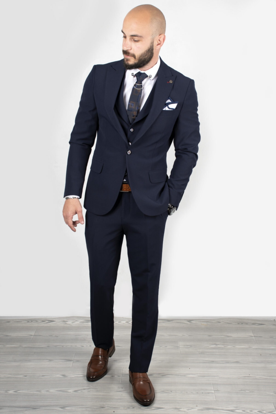 کت شلوار مردانه اصل مجلسی برند دیپسی رنگ لاجوردی کد ty36968415