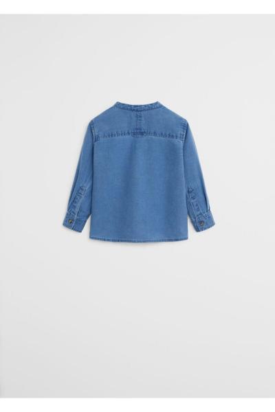 پیراهن نوزاد پسر ارزان برند منگو رنگ آبی کد ty37116841