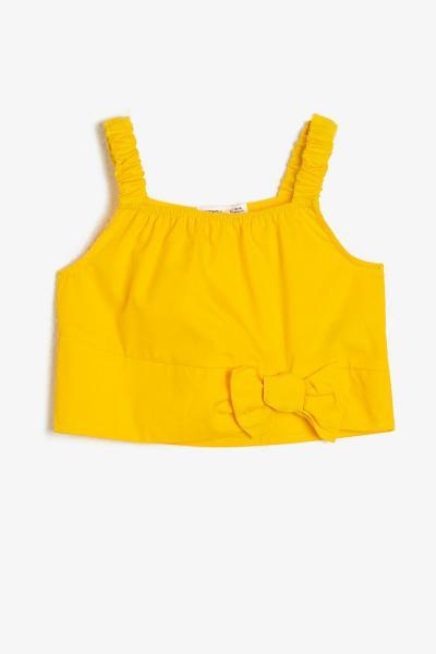 بلوز دخترانه سال ۹۹ برند Koton Kids رنگ زرد ty37208572