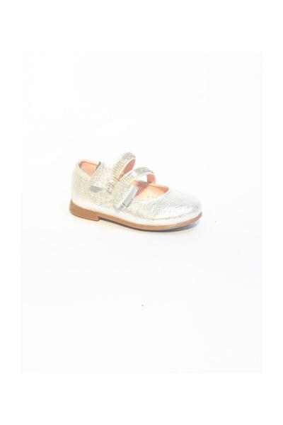 کفش تخت ارزان نوزاد دختر برند Buvakids رنگ نقره کد ty38628119