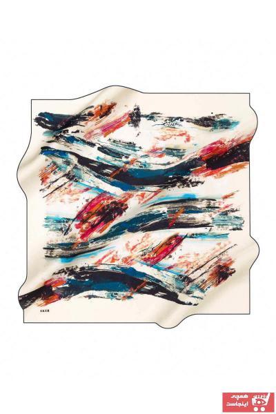 خرید روسری  برند Aker رنگ لاجوردی کد ty38632512