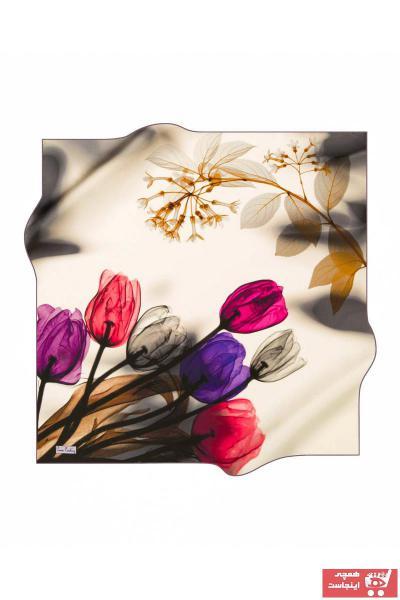 خرید پستی روسری شیک برند پیرکاردن رنگ طلایی ty38647571