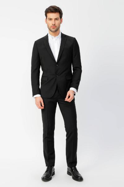 مدل کت شلوار مردانه برند Fabrika رنگ مشکی کد ty38933087