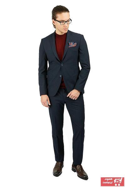 کت شلوار مردانه سال ۹۹ برند Centone رنگ لاجوردی کد ty39162936