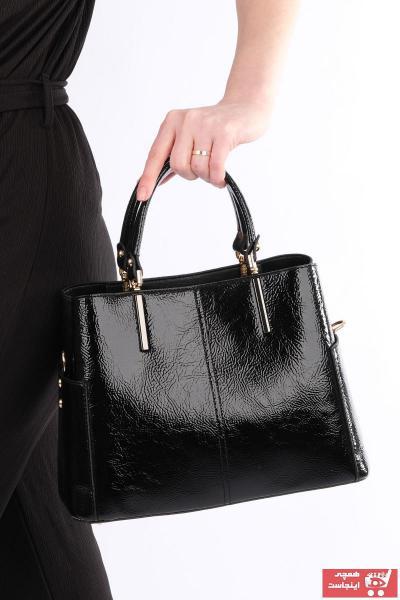 خرید غیر حضوری کیف دستی از ترکیه برند Marjin رنگ مشکی کد ty39189660