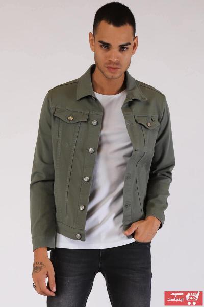 خرید ژاکت جین نخی برند Twister Jeans رنگ سبز کد ty39433433