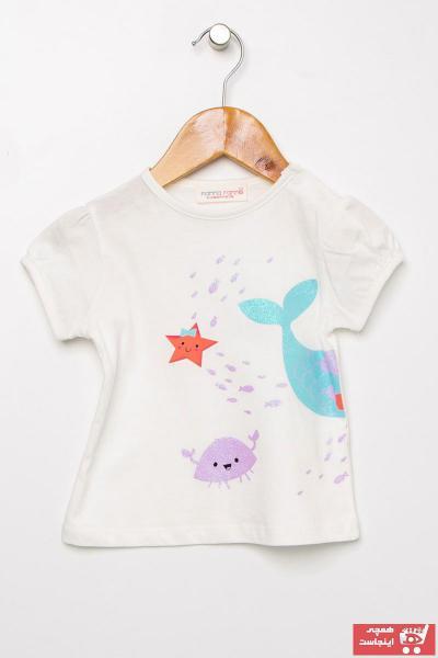 فروشگاه تیشرت نوزاد دخترانه اینترنتی برند Mammaramma کد ty39579843