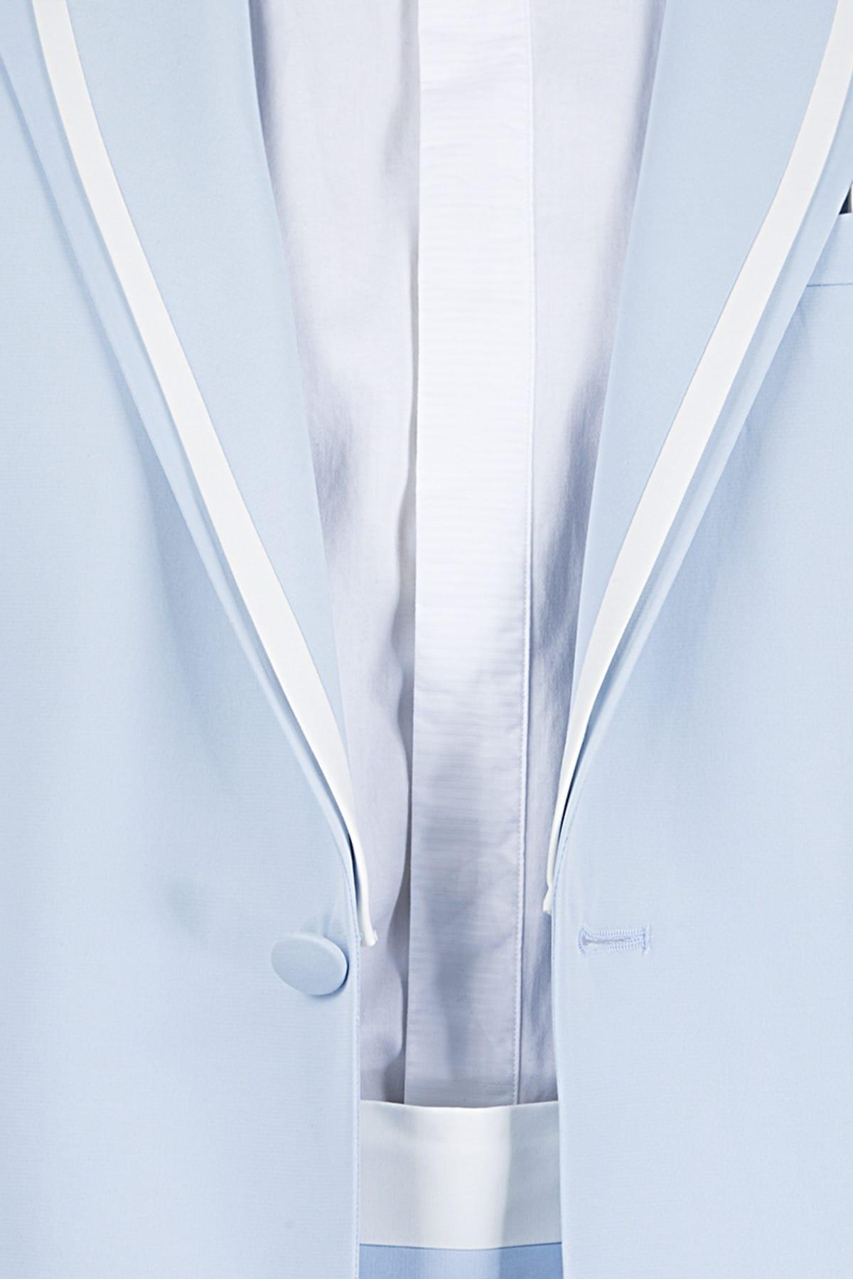 کت شلوار اورجینال برند DS Damat رنگ آبی کد ty4030616