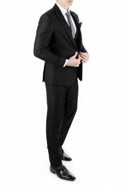 کت شلوار مردانه خاص برند دیپسی رنگ مشکی کد ty4060115